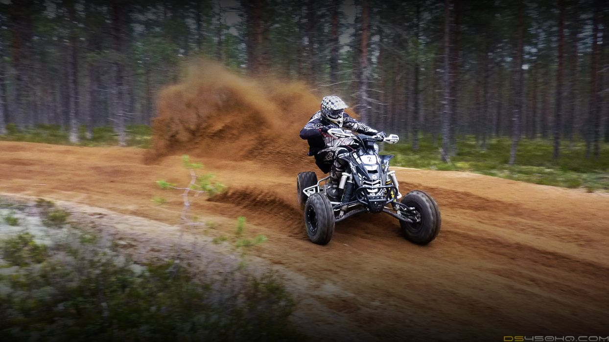 Can-Am DS 450 atv quad offroad motorbike bike dirtbike   dq wallpaper