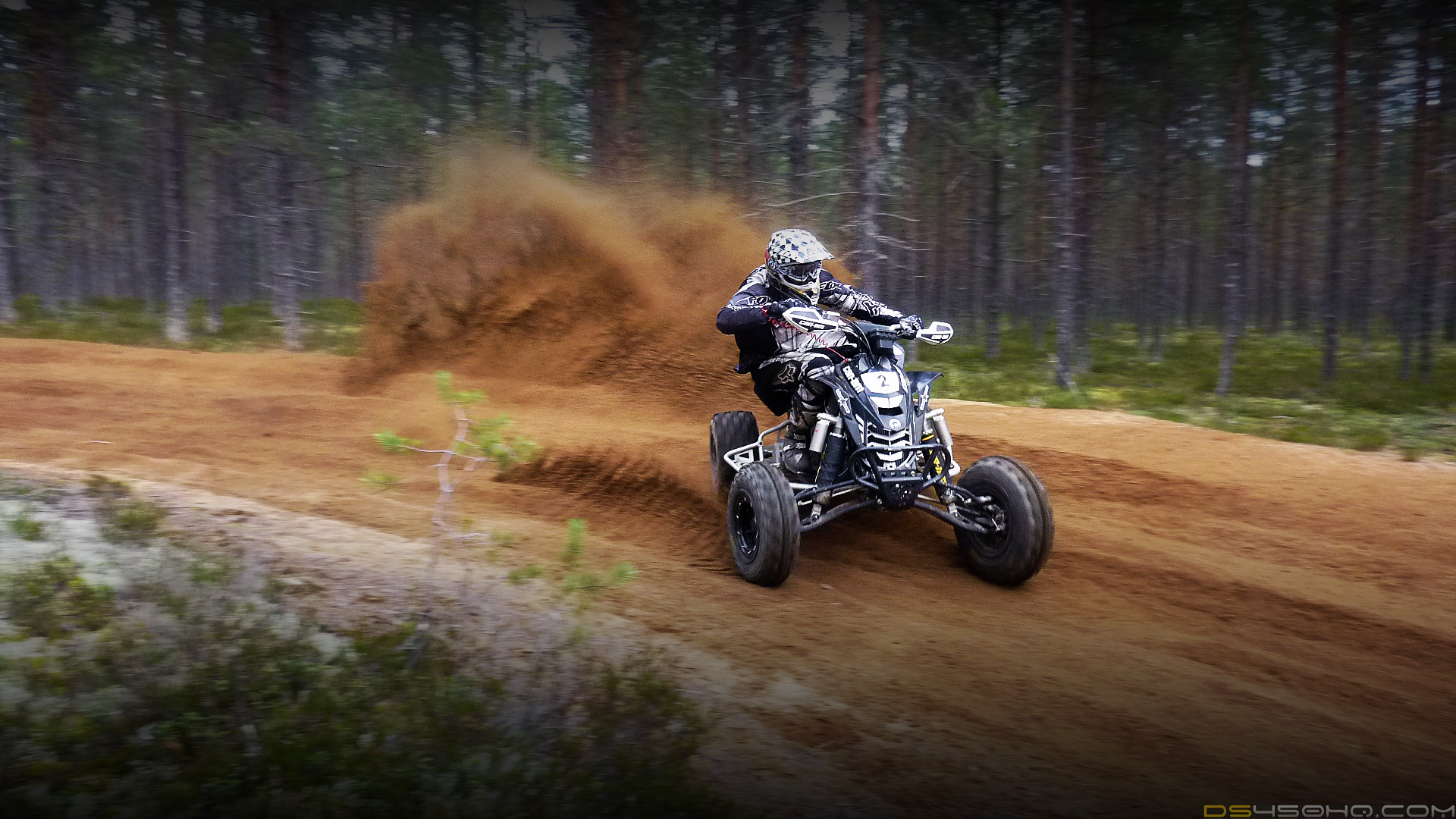Can-Am DS 450 atv quad offroad motorbike bike dirtbike dq