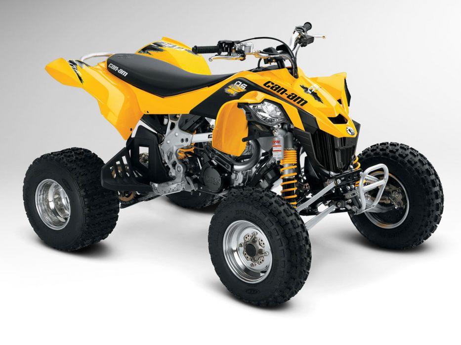 Can-Am DS 450 atv quad offroad motorbike bike dirtbike   f wallpaper
