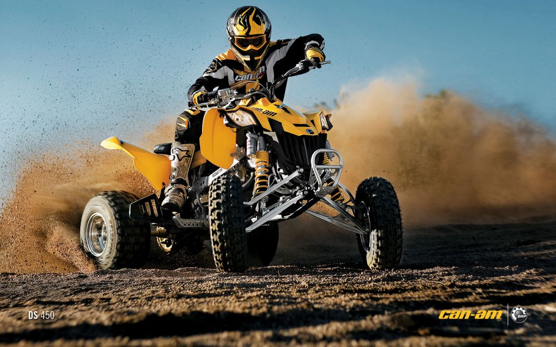 Can-Am DS 450 atv quad offroad motorbike bike dirtbike poster      g wallpaper