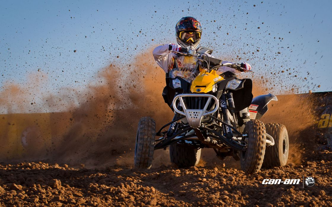 Can-Am DS 450 atv quad offroad motorbike bike dirtbike poster    v wallpaper