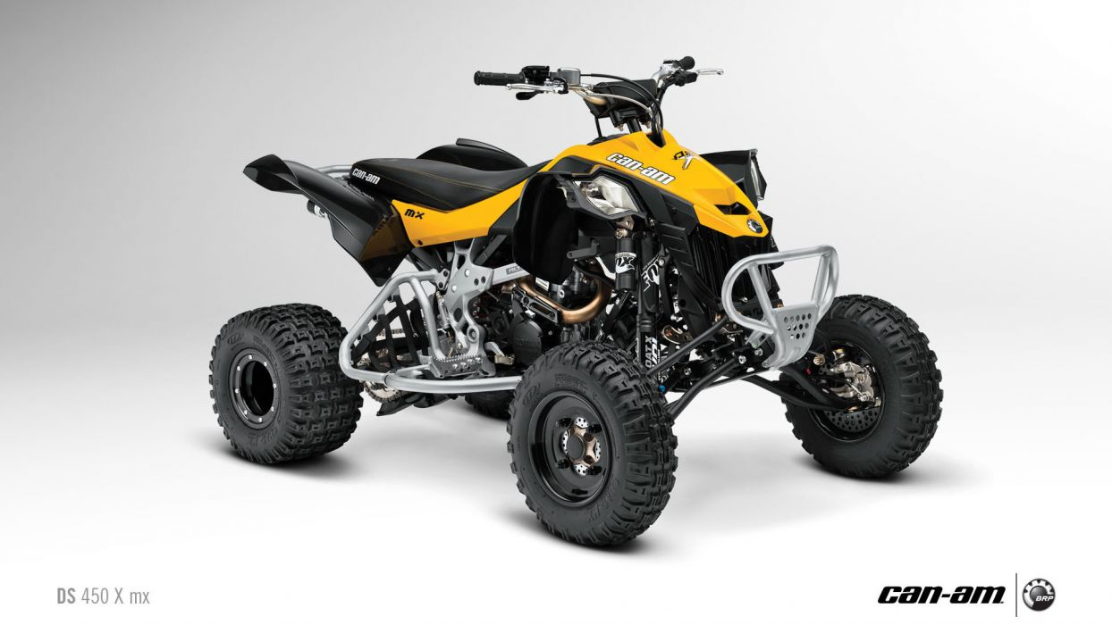 Can-Am DS 450 atv quad offroad motorbike bike dirtbike poster   f wallpaper