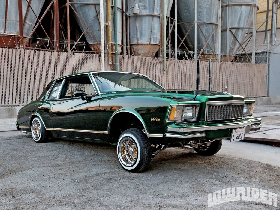 Chevrolet Monte Carlo lowrider custom       g wallpaper