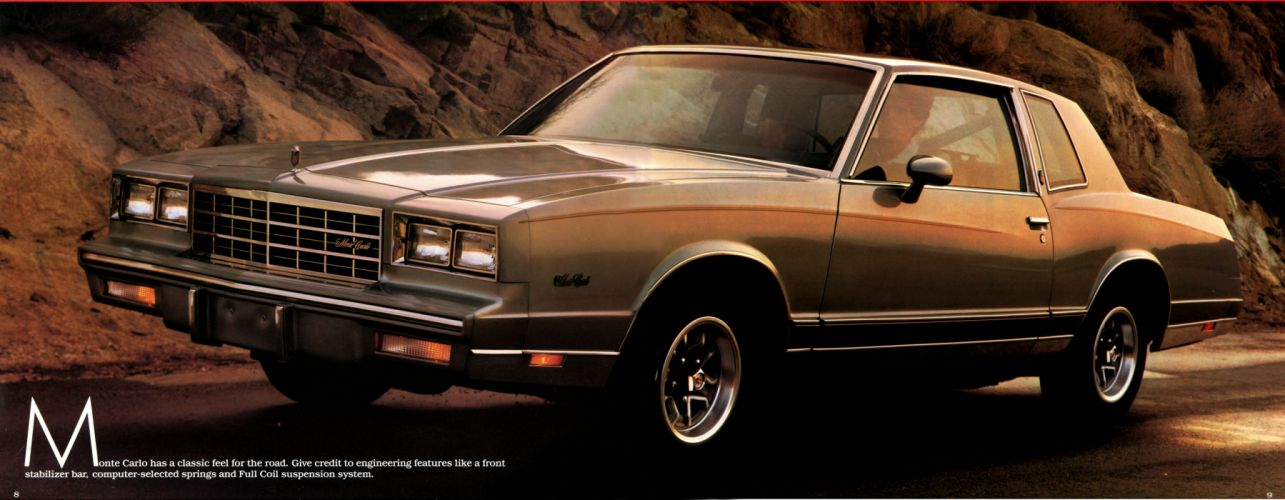 CHEVROLET MONTE CARLO muscle f wallpaper