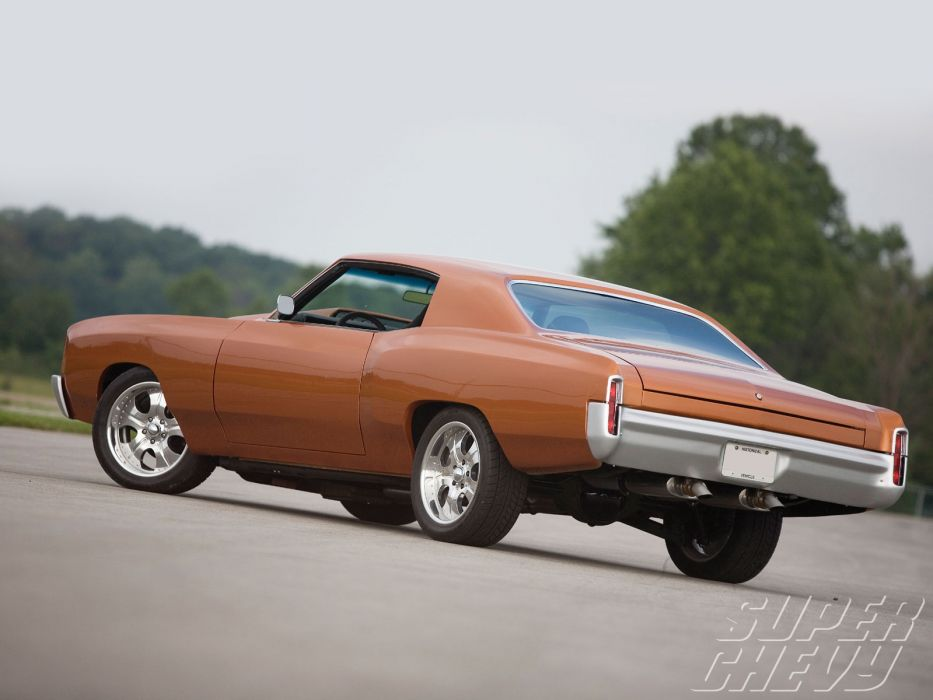 CHEVROLET MONTE CARLO muscle hot rod rods         d wallpaper