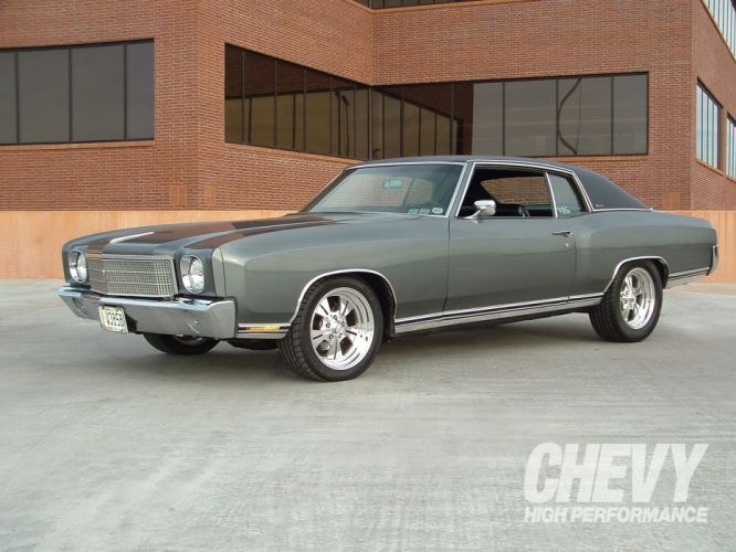 Chevrolet Monte Carlo muscle hot rod rods r wallpaper