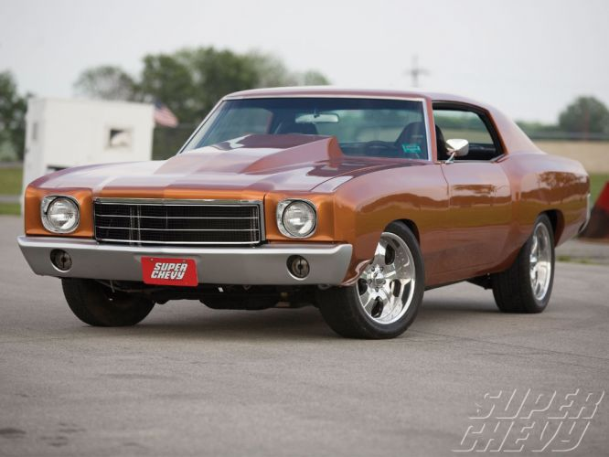 CHEVROLET MONTE CARLO muscle hot rod rods c wallpaper
