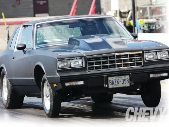 CHEVROLET MONTE CARLO muscle hot rod rods drag racing race g wallpaper