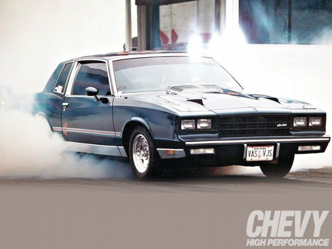 CHEVROLET MONTE CARLO muscle hot rod rods drag racing race f wallpaper