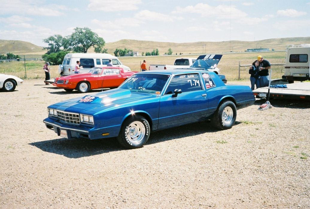 CHEVROLET MONTE CARLO muscle hot rod rods drag racing race  h wallpaper