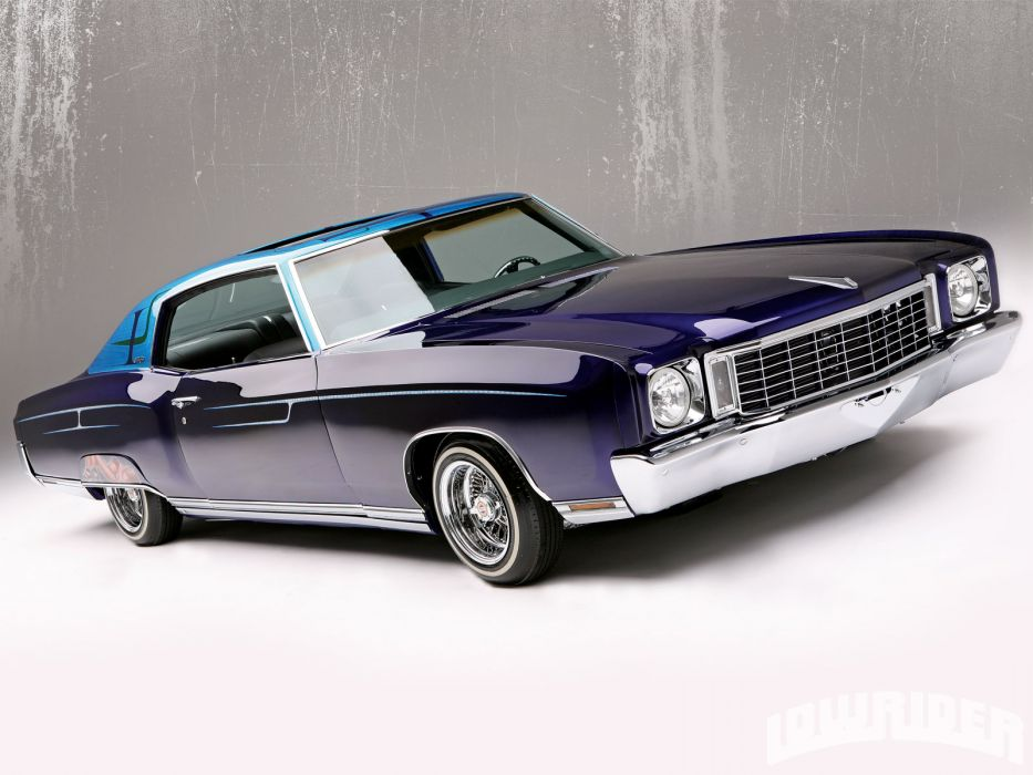 CHEVROLET MONTE CARLO muscle lowrider custom       g wallpaper