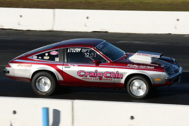 CHEVROLET MONZA hot rod rods drag racing race fw wallpaper