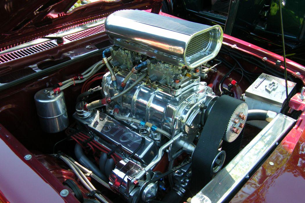 CHEVROLET MONZA hot rod rods engine       g wallpaper