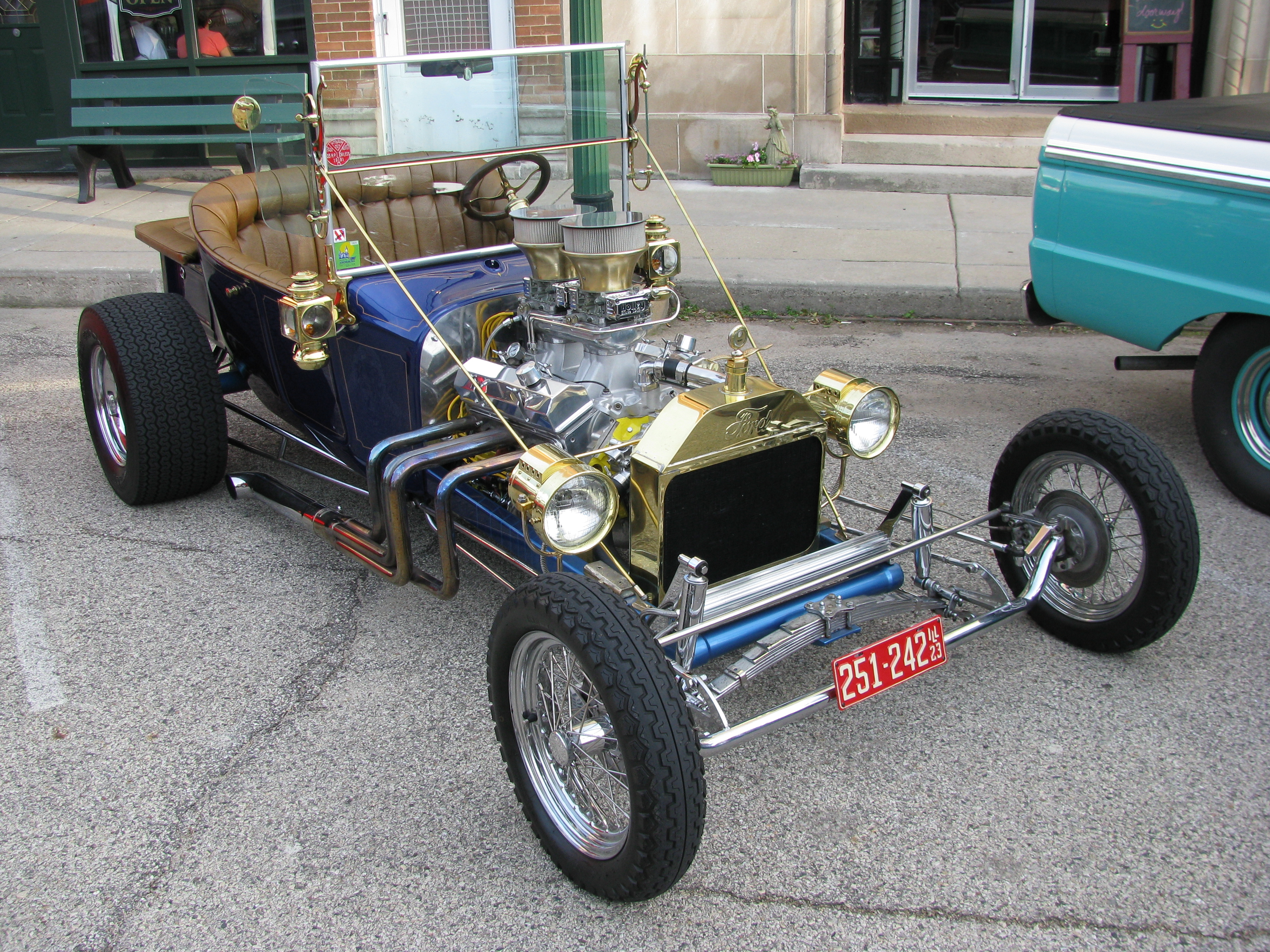 hot rod rods retro 1923 Ford engine f wallpaper background