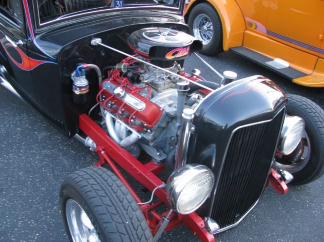 hot rod rods retro 1931 Ford engine g wallpaper