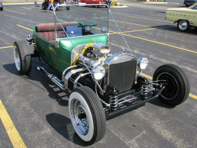 hot rod rods retro 1932 Ford engine f wallpaper