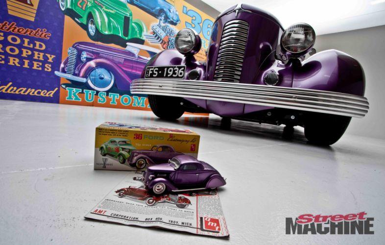 hot rod rods retro 1936 Ford r wallpaper