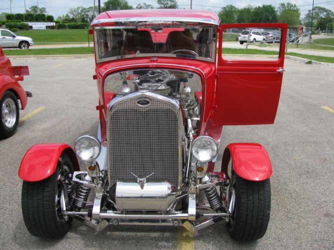 hot rod rods retro Ford f wallpaper