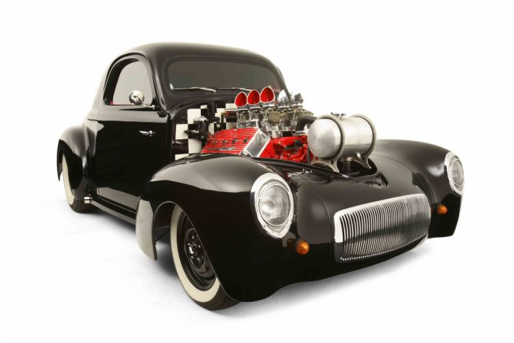 hot rod rods retro willys engine g wallpaper
