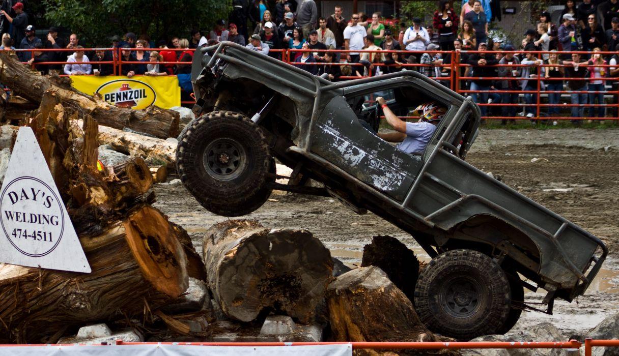 MUD-BOGGING 4x4 offroad race racing monster-truck race racing pickup   h wallpaper
