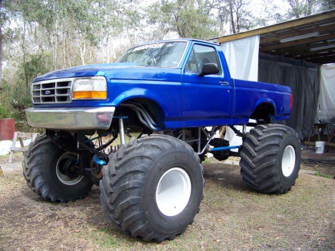 MUD-BOGGING 4x4 offroad race racing monster-truck race racing pickup ford t_JPG wallpaper
