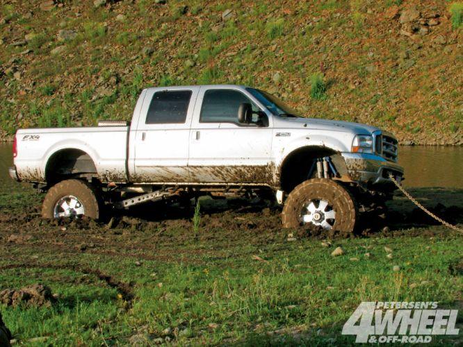 MUD-BOGGING 4x4 offroad race racing monster-truck race racing pickup ford g wallpaper