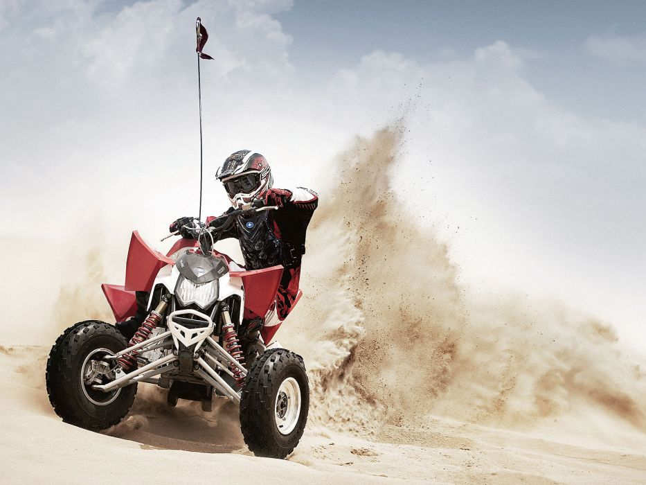 POLARIS OUTLAW atv quad offroad motorbike bike dirtbike  rq wallpaper