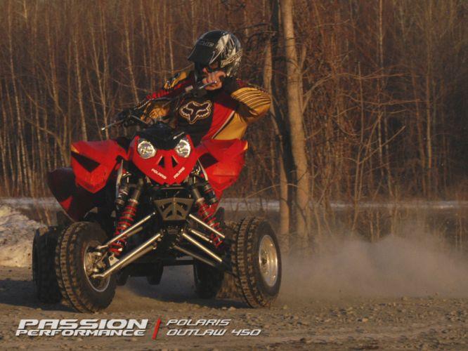 POLARIS OUTLAW atv quad offroad motorbike bike dirtbike poster u wallpaper