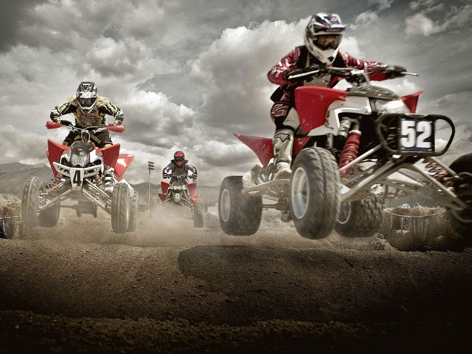 POLARIS OUTLAW atv quad offroad motorbike bike dirtbike race racing    g wallpaper