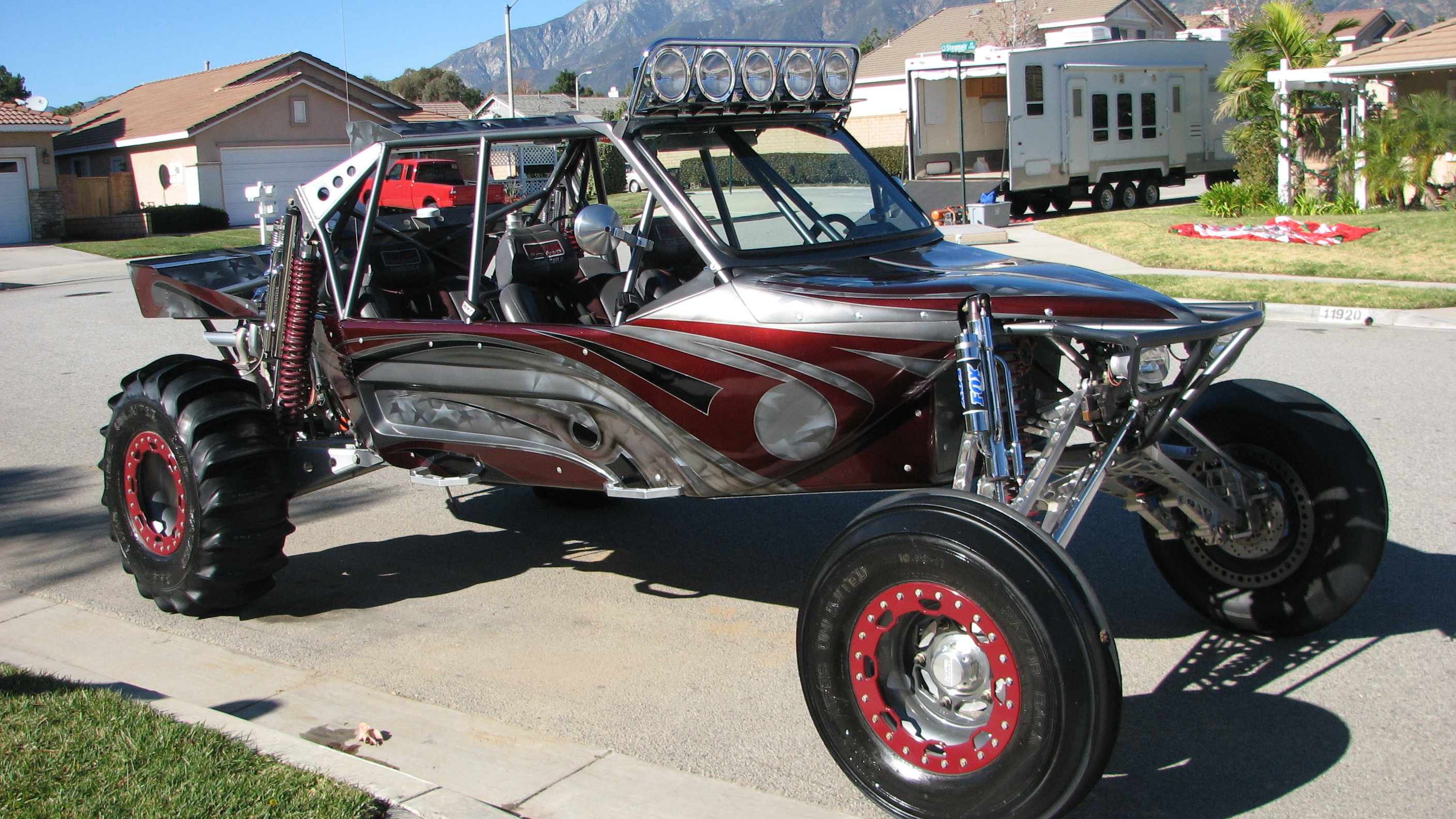 rc dune buggy for sale with Sandrail Dunebuggy Offroad Hot Rod Rods Race Racing Custom G on Dune Buggy RC Car Wave Runner RTR   40 Km Hour 2 Wheel Drive 4 Wheel Suspension together with Epcp 1211 Sema 2012 Custom Vw Beetles besides Nomad as well 66016 Trophy Kart also Traxxas 2.