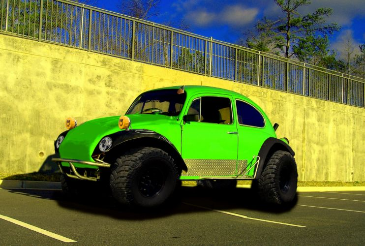 VOLKSWAGON baja offroad race racing bug beetle baja-bug beetle gk wallpaper