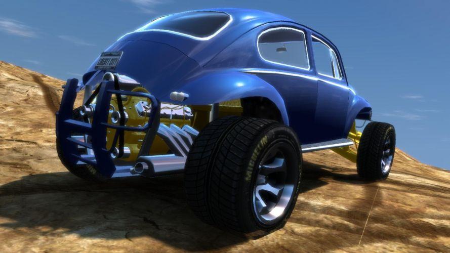 VOLKSWAGON baja offroad race racing bug beetle baja-bug beetle hot rod rods g wallpaper