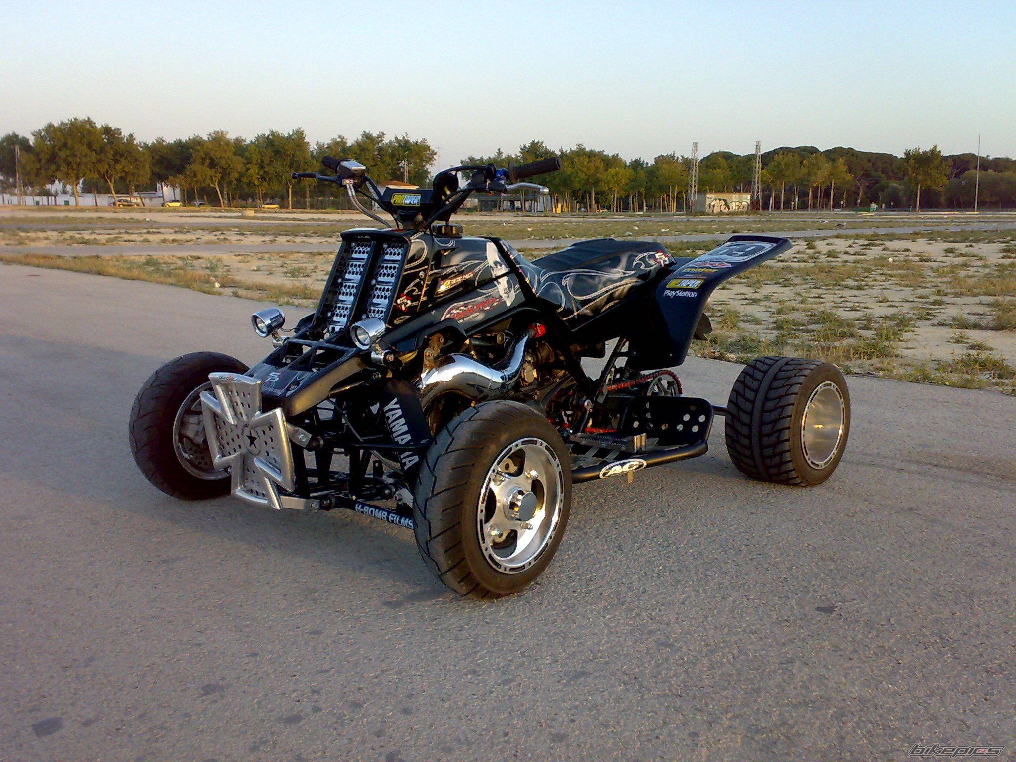 Four Wheelers Mx : Yamaha banshee atv quad offroad motorbike bike dirtbike