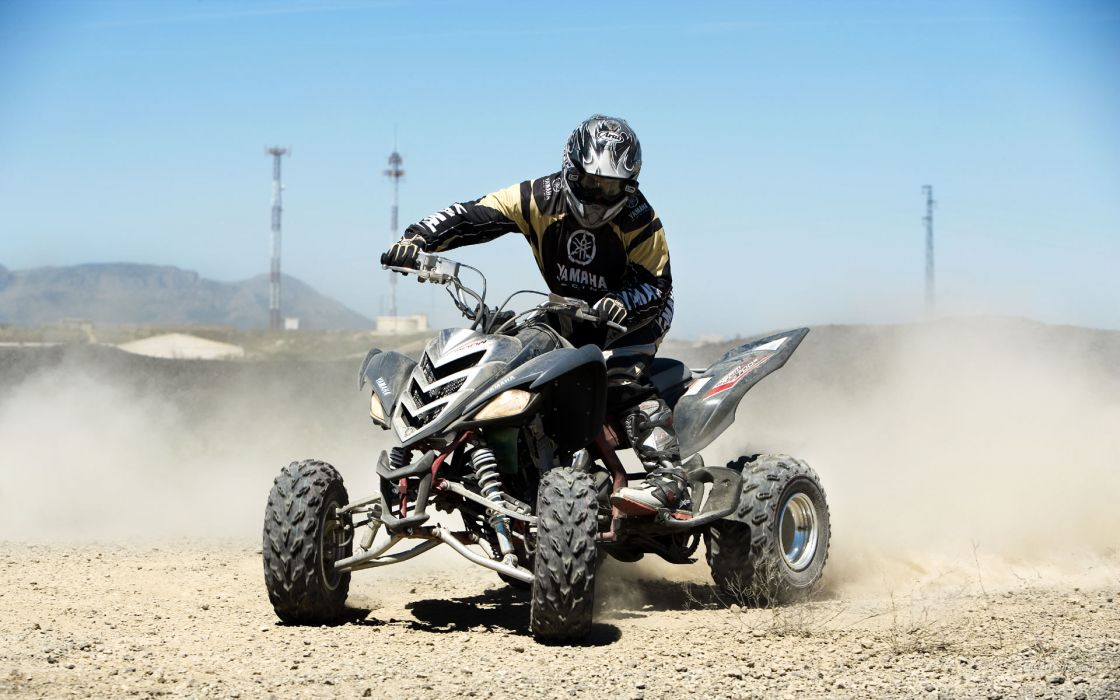 YAMAHA RAPTOR atv quad offroad motorbike bike dirtbike    kf wallpaper