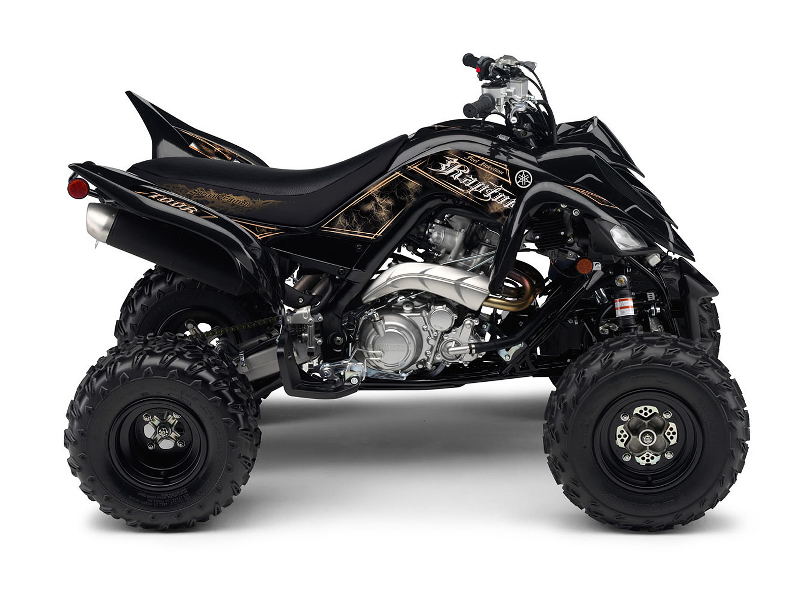 shop for the yamaha raptor 700r atv battery powered ride