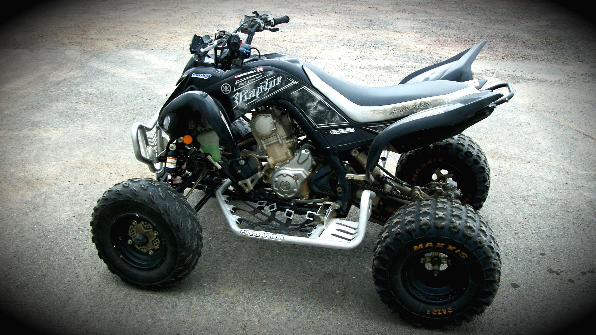 YAMAHA RAPTOR atv quad offroad motorbike bike dirtbike