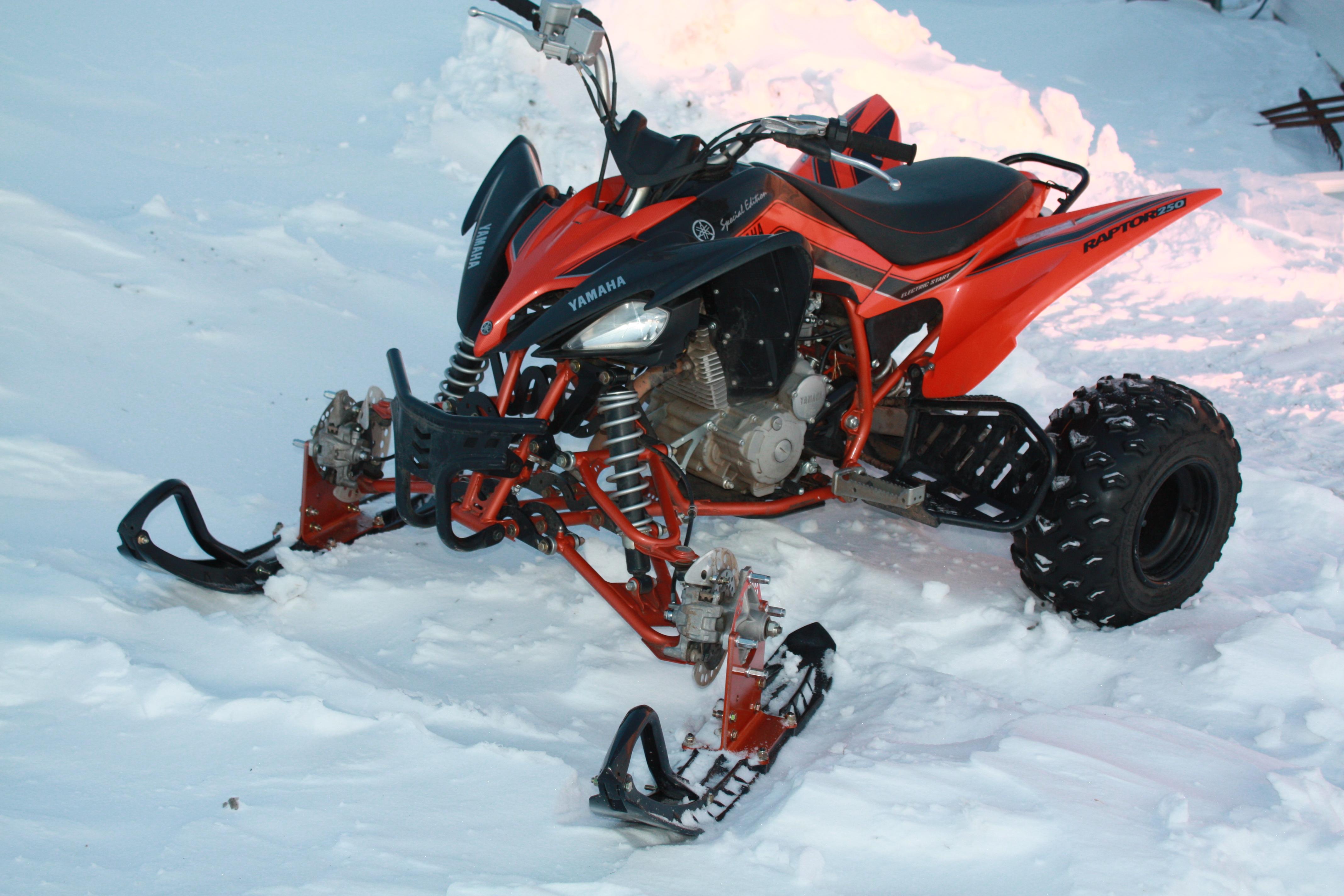 Yamaha Raptor Atv Quad Offroad Motorbike Bike Dirtbike Snowmobile