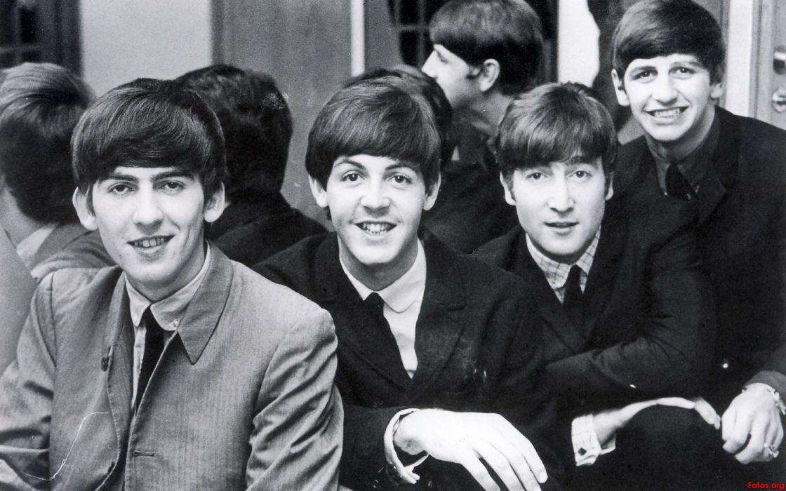 The Beatles John Lennon George Harrison Ringo Starr Paul McCartney wallpaper