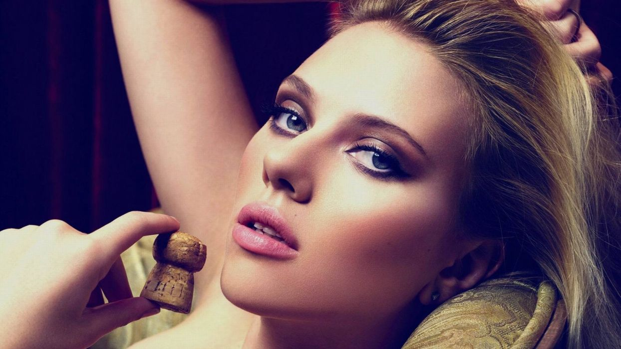 blondes women Scarlett Johansson models wallpaper