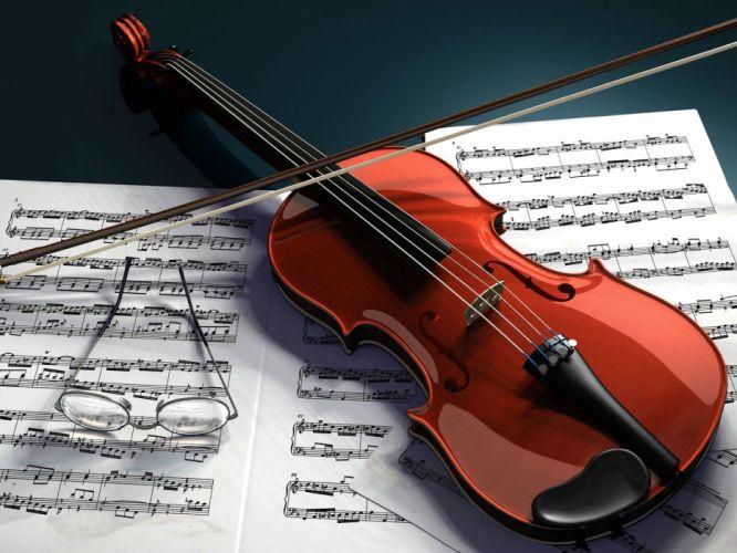 violins wallpaper