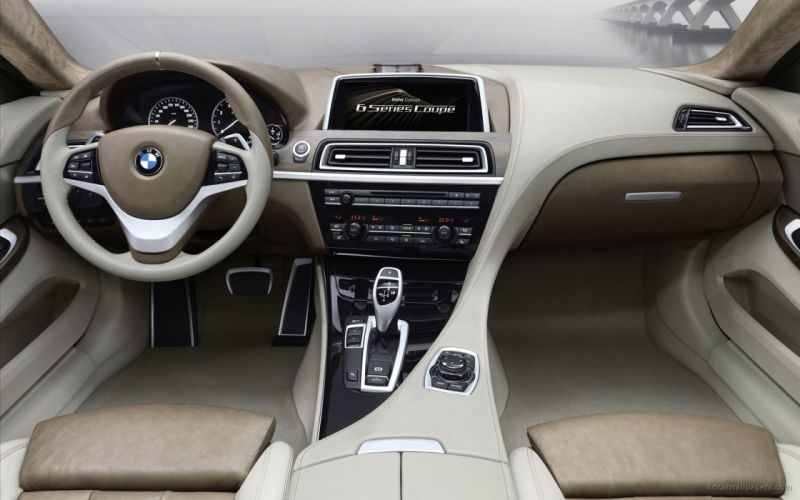 BMW cars interior concept art vehicles BMW 6 Series wallpaper