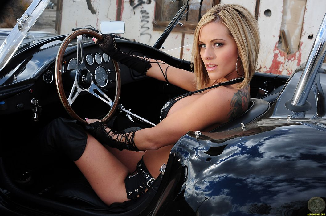 Cars with Girls wallpaper