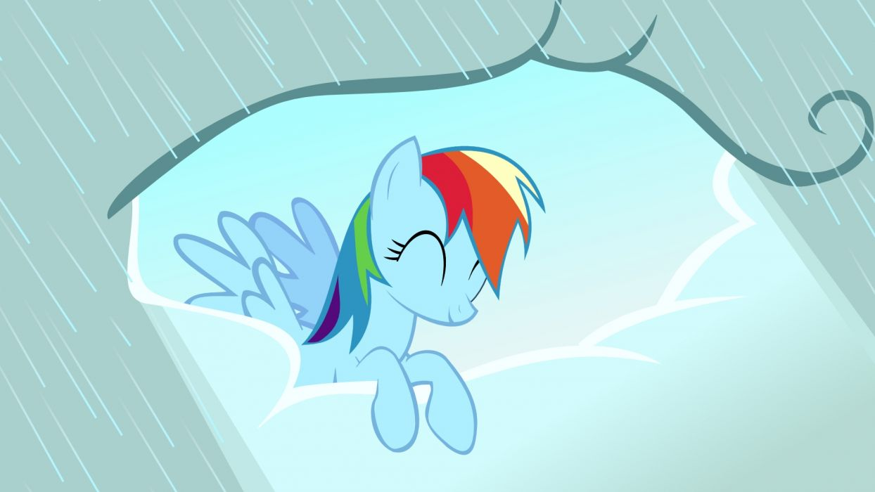 Clouds ponies Rainbow Dash My Little Pony: Friendship is Magic wallpaper |  1920x1080 | 191269 | WallpaperUP