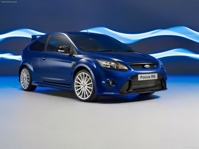 blue cars Ford Focus RS Ford Focus wallpaper