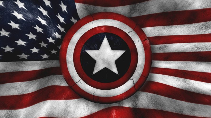 army military Captain America flags US Army wallpaper