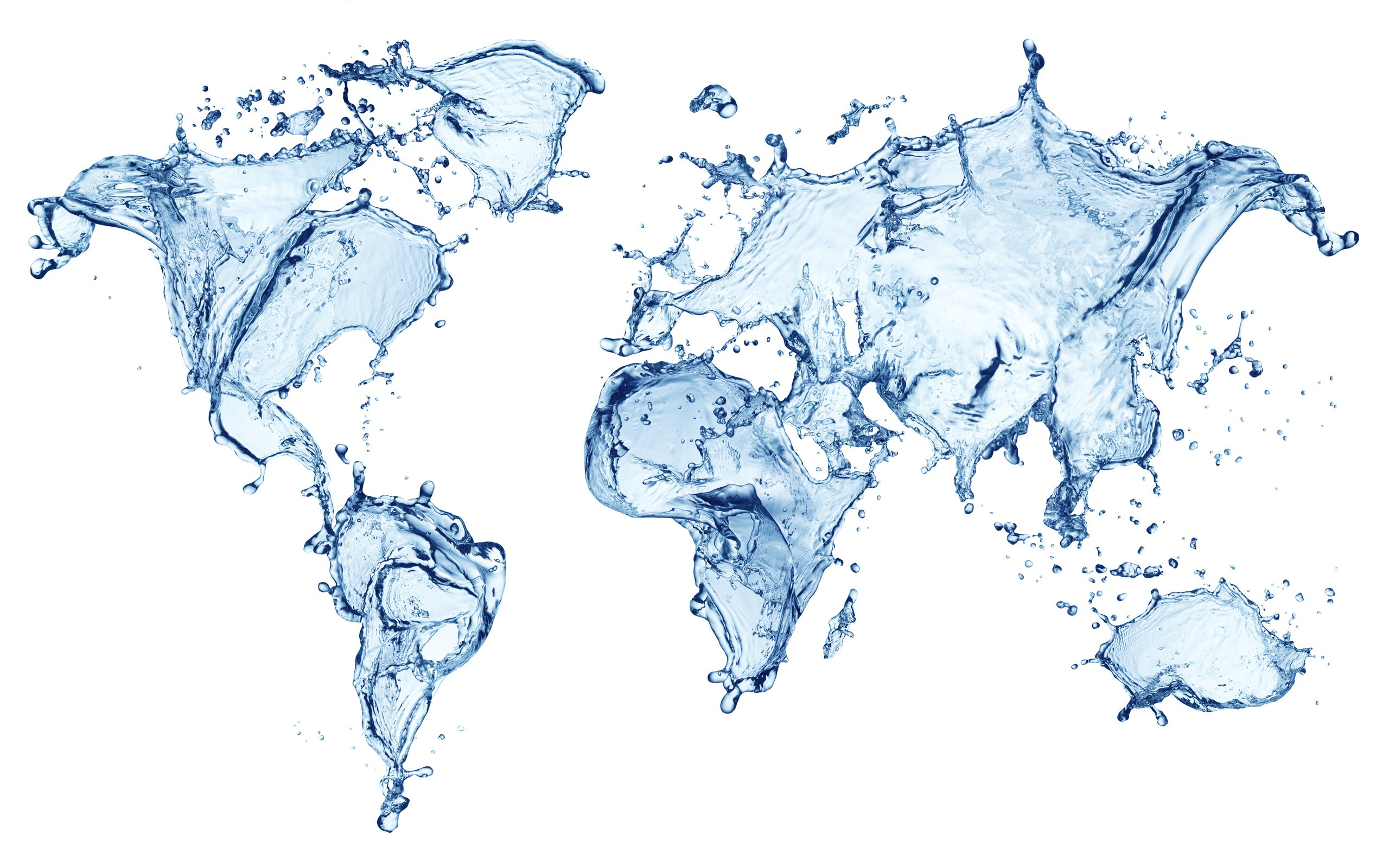 Water abstract maps world map wallpaper | 2560x1600 | 191339