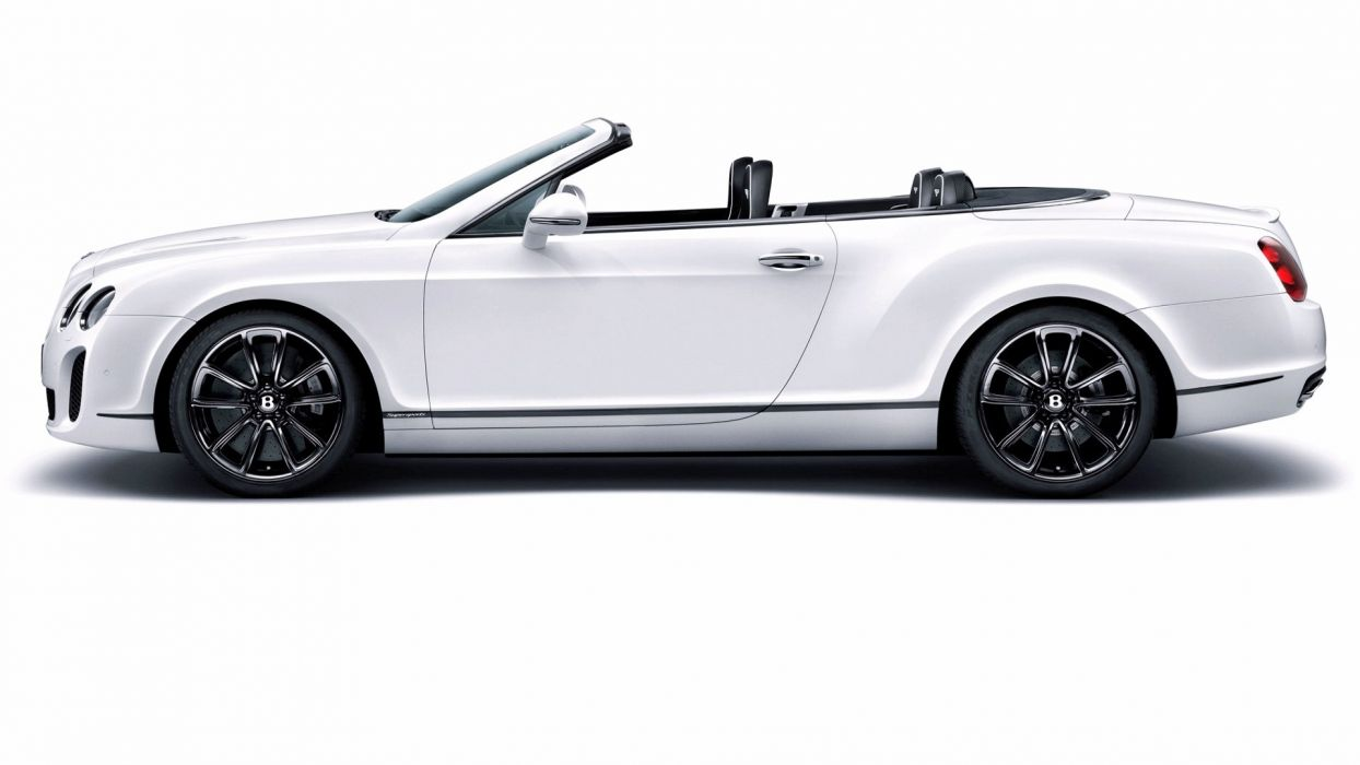 cars Bentley convertible white cars wallpaper