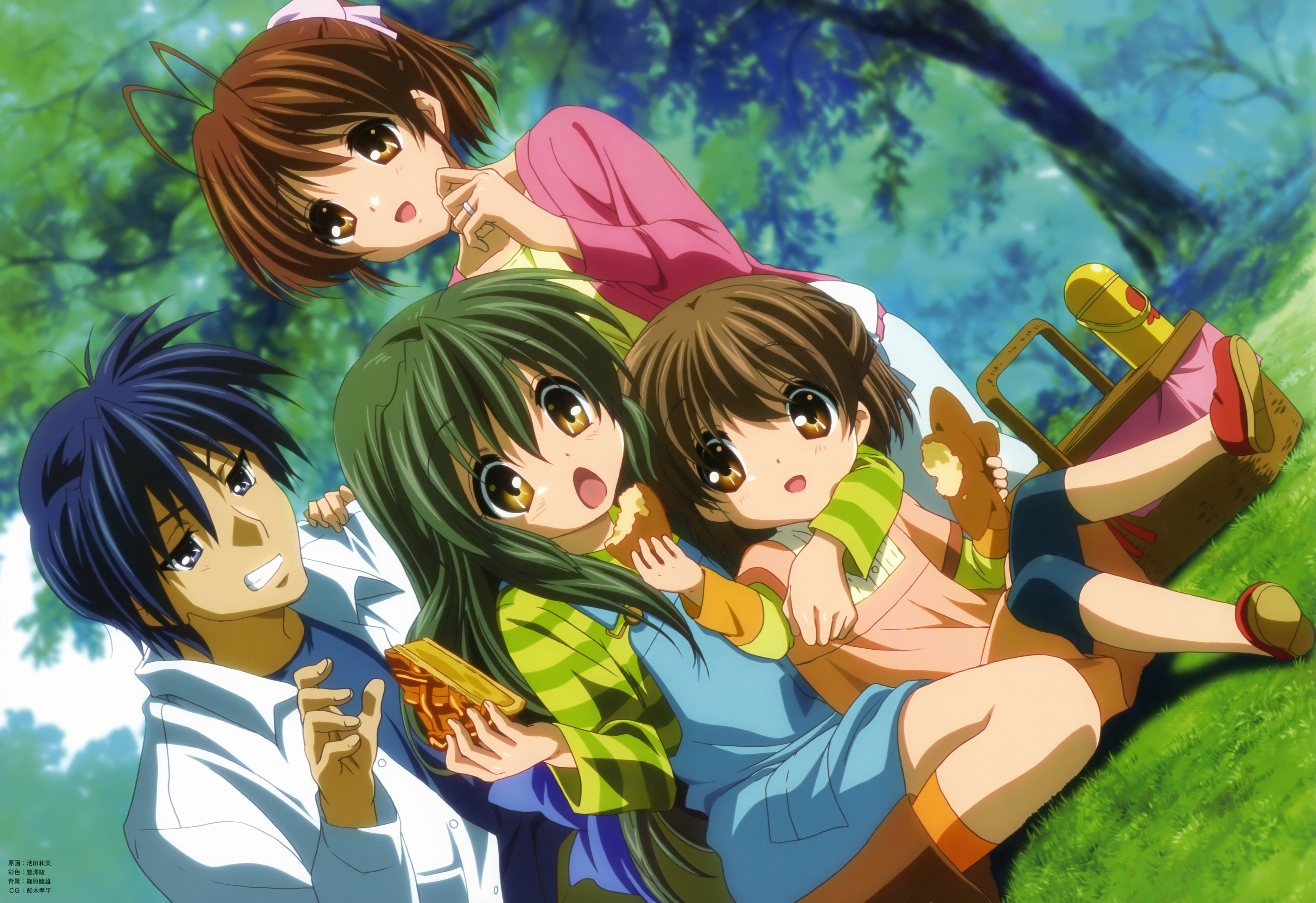 Clannad Clannad After Story wallpaper | 4472x3068 | 191419 ...