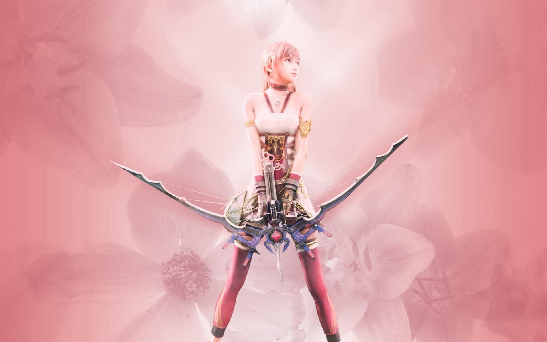 Final Fantasy Final Fantasy Xiii Serah Farron Wallpaper