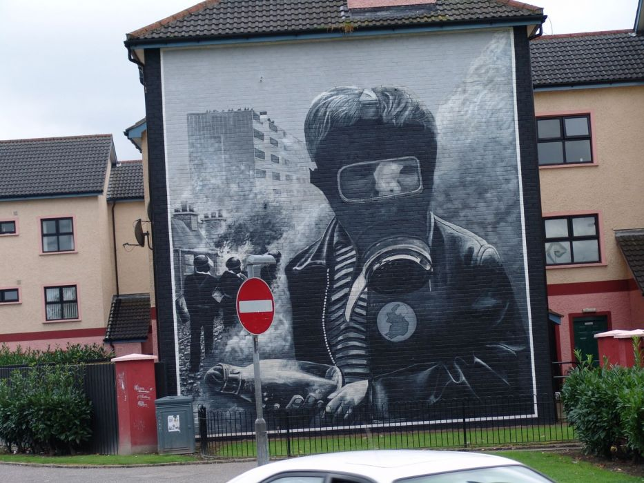 Derry North Ireland troubles wallpaper